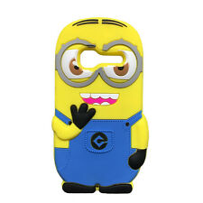 3D Cartoon Silicone Phone Case Cover for Alcatel One Touch Pixi 4007 OT 4007D