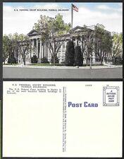 Old Colorado Linen Postcard - Pueblo - Federal Court Building