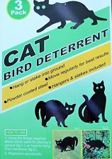 Garden Scare 3 Cats with Reflective Marble Eyes Deterrent Cat Dog Bird Pest Cont
