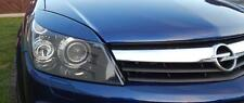 Vauxhall OPEL Astra H  05-10 GTC, FRONT and REAR eyebrows  ABS headlight spoiler