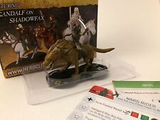 Warg Rider - LOTR The Two Towers HeroClix - #28 - Super Rare