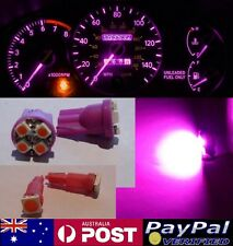 Pink LED Dash Gauge Light Kit - Suit Subaru Forester 1997-2002 GX GT