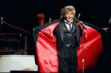 "12""*8"" concert photo of Barry Manilow playing at Birmingham in 1984"