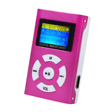 USB Mini MP3 Player LCD Screen Support 39GB Micro SD TF Card 99@