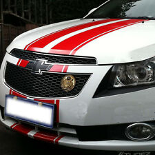 Car Dual Racing Stripes Vinyl Decal Stickers Stripe for Cruze Front Rear #699