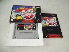 Kirby`s Dream Course SNES Spiel komplett mit OVP und Anleitung