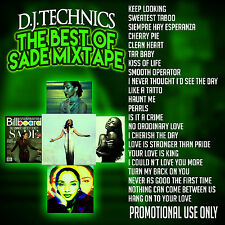 D.J.TECHNICS THE BEST OF SADE MIXTAPE. WITH FREE GROCERY AND RESTAURANT COUPONS
