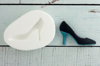 Ladies Shoe, Stiletto Silicone Mould Food Grade Sugar craft/chocolate/fimo M061