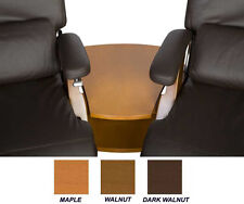 THE NEW PERFECT CHAIR RECLINER DARK WALNUT WEDGE SPANNER TABLE ONLY