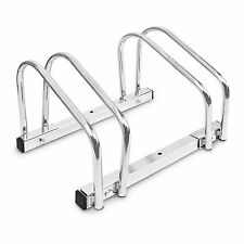 Double Bike Cycling Stand Safe Ramp for Ground and Wall Mounting Secure