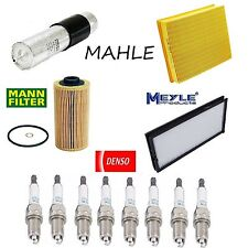 Tune Up Kit Air Cabin Fuel Oil Filters Spark Plugs for BMW 540i E34 1994-1995