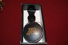 Minnesota Golden Gophers Tribeca stereo headphones  in-line mic & Remote college