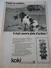 Pub 1969 Koki nourriture pour chien diététique Purina