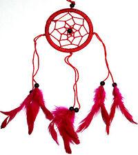 CAPTEUR/ATTRAPEUR DE REVE/DREAM CATCHER COUNTRY ROUGE dreamcatcher RED
