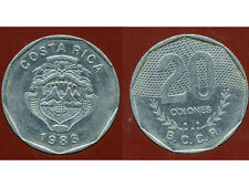 COSTA RICA  20 colones  1983   ( bis )
