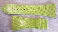 NWT - PIPPO GENUINE SNAKESKIN WATCH STRAP/BAND Green 30 mm no buckle