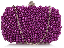 Ladies Women's Night Out Bag Prom Evening Clutch Wedding Bridal's Purse Handbag