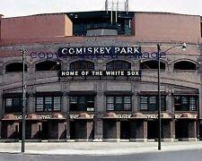 Comiskey Park 1950's Front Exterior Shot Color 8x10 HHH