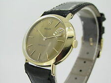 ROLEX CELLINI YELLOW GOLD 18K CAL.1600 * Swiss Made * EXCELLENT CONDITION