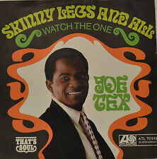 "JOE TEX - SKINNY LEGS AND ALL / WATCH THE ONE / ATL 70243  7""SINGLE (G480)"