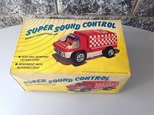 Super Sound Control Mobile Commader Van Battery Toy Nib Tins 70/80s
