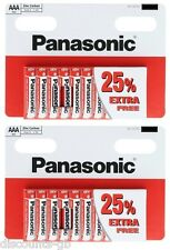 """20 AAA Panasonic """"Special"""" Zinc Carbon AAA (R03, S) Size - Box of 10 Batteries"""