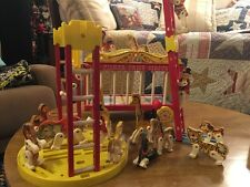 Vintage Fisher Price Circus Wagon Pull Toy