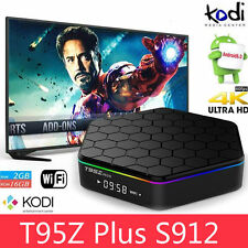 T95Z Plus S912 2GB+16GB Octa Core Android 6.0 TV Box KODI 2.4/5Ghz Dual WIFI BT