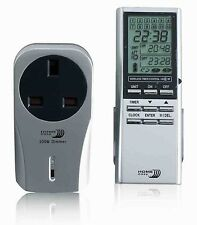 Byron Home Easy timer remote control dimmable socket NEW BNIB HE210 For Lights