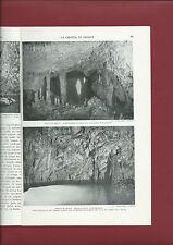 La Grotta di Amalfi Speleologia 1933 Illustrato con fotografie Luigi Parpagliolo