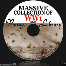 Massive Collection Of WW1  Naval Operations History Campaigns Maps Books on DVD