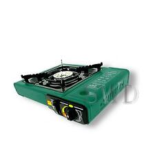 Butane Gas Cooker Camp Stove Hob Burner Caravan Fishing Bus Camper Van T2 BBQ