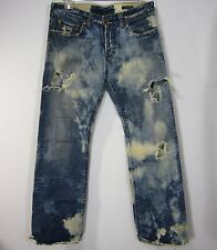 PREMIUM GUESS AND MARCIANO JEANS PANTS SIZE 31, DISTRESS BLUE