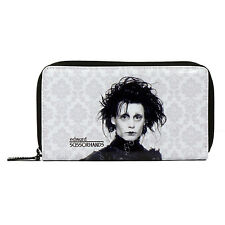BRAND NEW LICENSED EDWARD SCISSORHANDS DAMASK WOMEN PURSE.