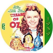 """The Wizard of OZ (1939) Sci-Fi and Fantasy """"B"""" NR CULT Movie DVD"""