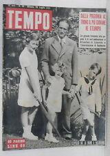 TEMPO 28 Luglio 1951 Abdicazione di Leopoldo Belgio Versilia James Mason Micali