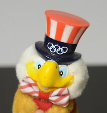 Sam the Olympic Eagle. Clip-on Applause collectable. 1980 LA Olympics
