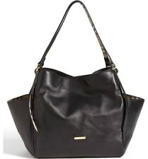 Burberry Canterbury Leather Over Shoulder Tote - Authentic - Black - Pre owned