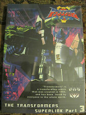 Transformers SuperLink Part 3-  Import DVD