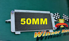 50mm ALUMINUM ALLOY RADIATOR FORD ESCORT/SIERRA RS500/RS COSWORTH 2.0 M/T 82-97