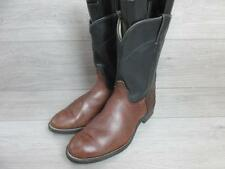 LAREDO MENS WESTERN/COWBOY BOOTS SIZE UK 10 BROWN VERY GOOD CONDITION EA4975