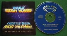 Sounds of Star Wars by The Millennium Orchestra Composed by John Williams CD