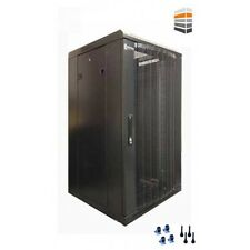 27U Server Rack 600 (W) x 800 (D) x 1400 (H) Mesh Door Data cabinet FLAT PACK