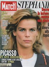 paris match n°2472 stephanie monaco ducruet picasso france gall john kennedy