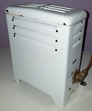 VINTAGE PORCELAIN ENAMEL GAS HEATER BATHROOM BEDROOM MARTIN STAMPING & STOVE