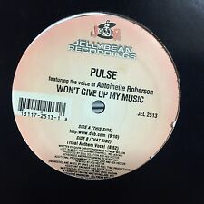 """PULSE FEAT ANTOINETTE  WON'T GIVE UP ON MY MUSIC 12"""""""