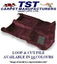 MOULDED CAR CARPET TO FIT HOLDEN RODEO DUAL CAB TF SERIES FRONT & REAR 88-95