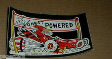 Honest Charlie's vintage original Hot Rod drag racing speed shop Sticker decal