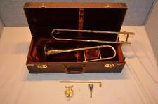 VINTAGE OLDS F-15 ALTO TROMBONE - 1969 - KEYED IN F - EXC. PLAYING CONDITION