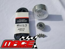 9PSI - 11PSI BOOST PULLEY UPGRADE KIT WITH BELT L67 SUPERCHARGED V6